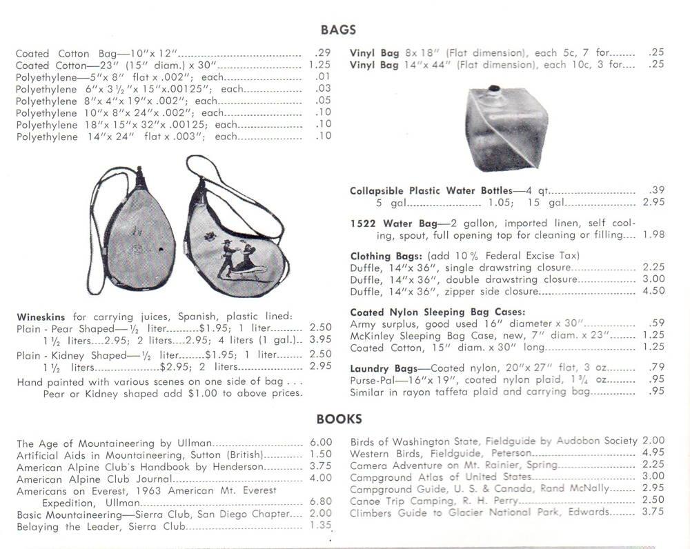 REI Catalog 1965, p.4