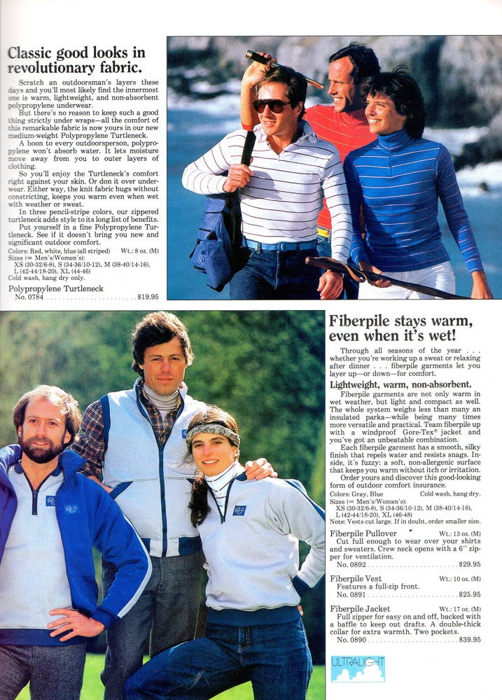 Early Winters Catalog, 1983, p.11