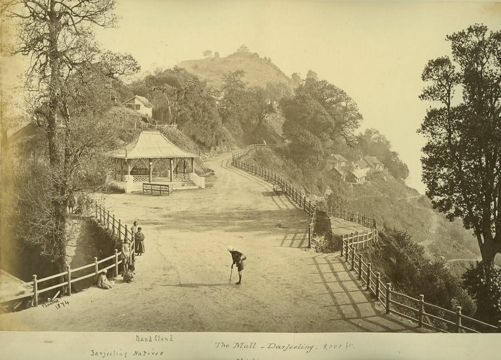 Darjeeling, 1874. Postcard courtesy of James Sinclair.