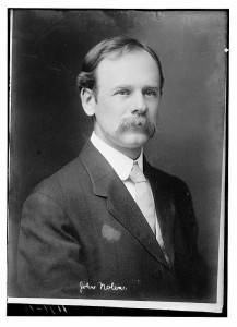 John Nolen in the early twentieth century. Library of Congress.