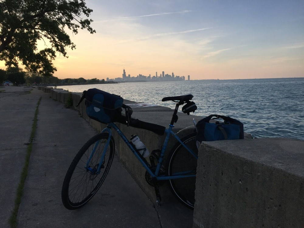 Longhurst also made a recent visit to Chicago. During the last decades of the nineteenth century, Chicago joined several other municipalities nationwide in passing ordinances to ban bikes from park grounds. Photograph by James Longhurst.