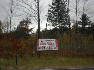 Land for sale by land managers for a TIMO near Tomahawk, Wisconsin