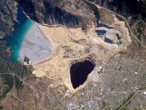 Berkeley Pit Butte, MT. Photo by NASA, public domain.