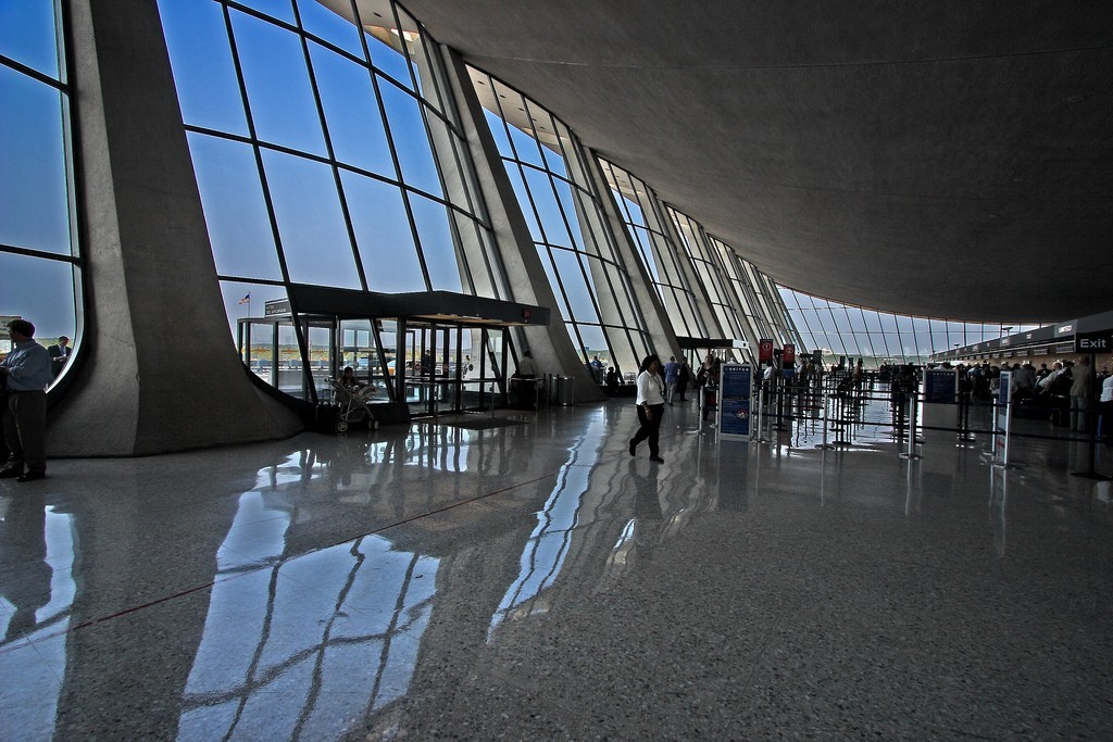 Dulles Interior, by Flickr user ehpien, CC BY-NC-ND 2.0.