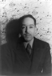 Langston Hughes photographed by Carl Van Vechten, 1936. Public domain.