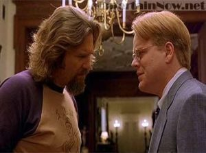 """Well dude, we just don't know."" Screenshot from the film The Big Lebowski."