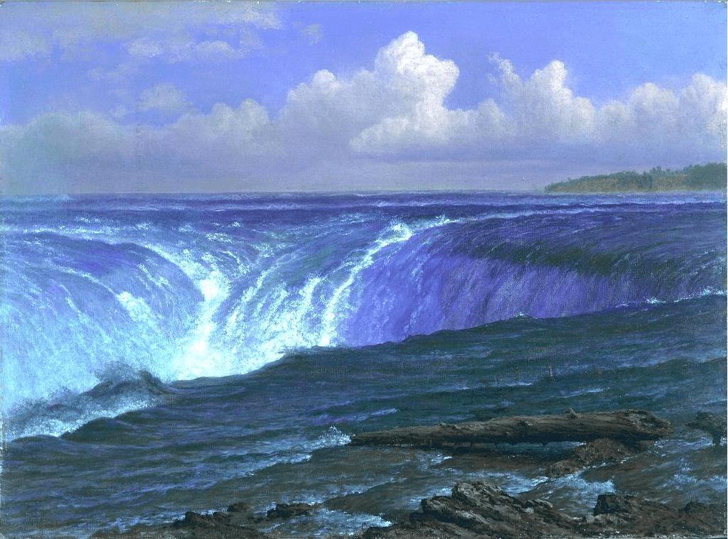 Niagara Falls, Albert Bierstadt.