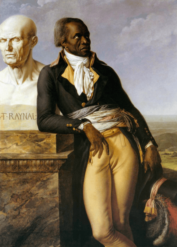Portrait of Citizen Belley, 1797, by Anne-Louis Girodet. CC PD-Art.