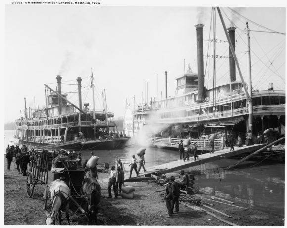 Riverboats_at_Memphis 1906 Cover Image
