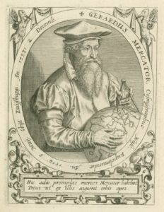 Cartographer Gerardus Mercator