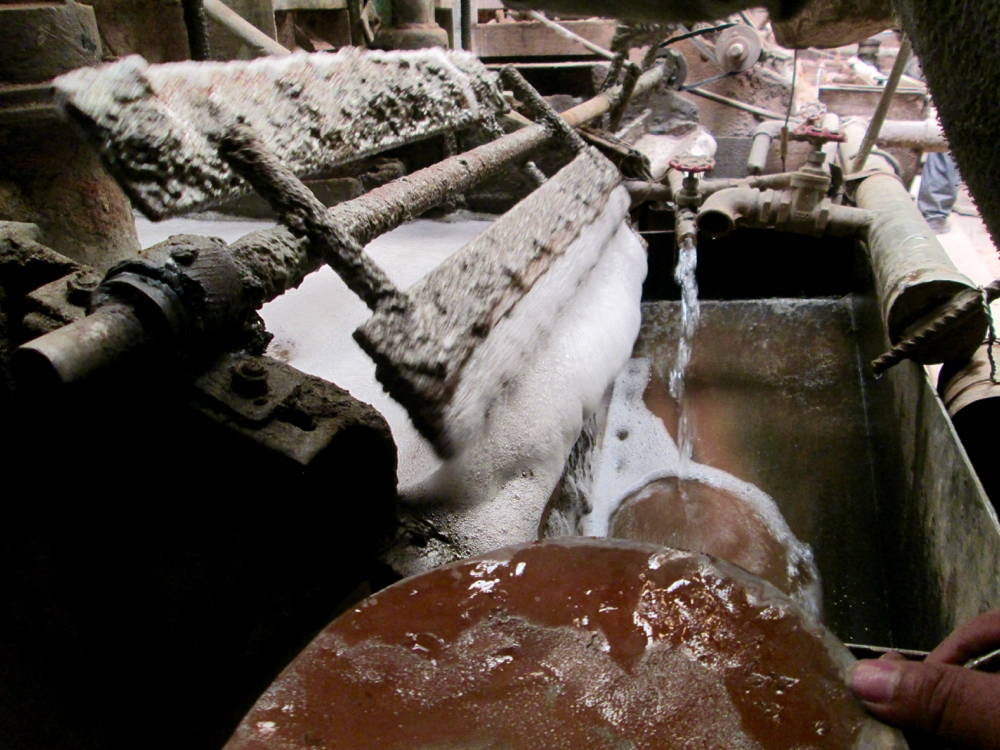 Silver production, Potosí. Photo by author, 2013.