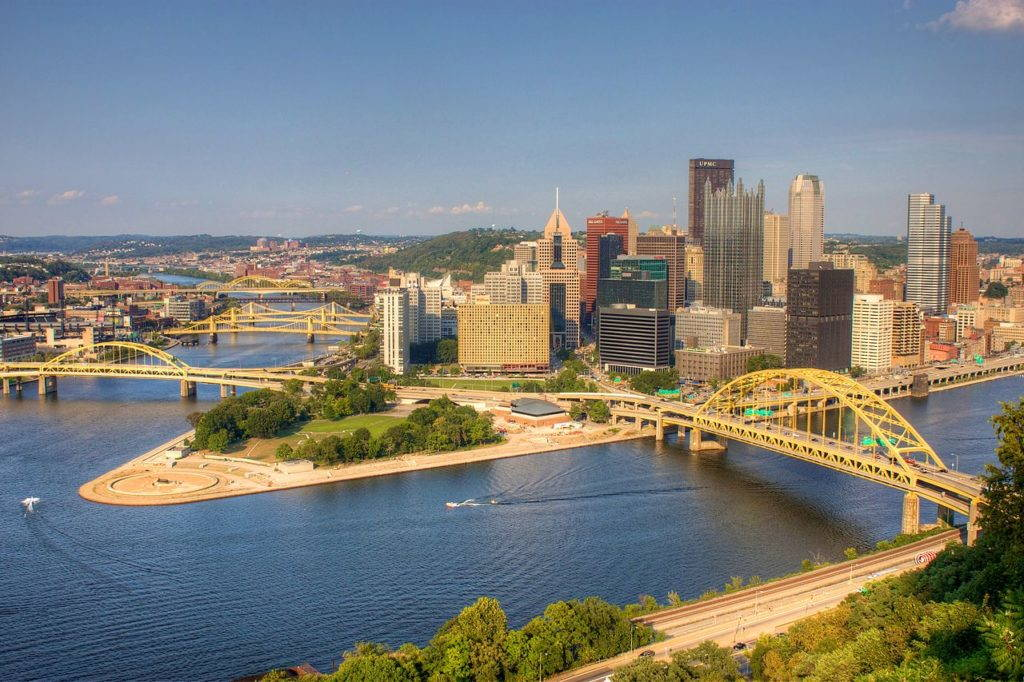 Downtown Pittsburgh. Wikimedia Commons.