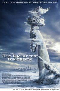 "Eco-catastrophic films like The Day After Tomorrow offer a tidier ending; the happy family survives to build a ""safer"" future."