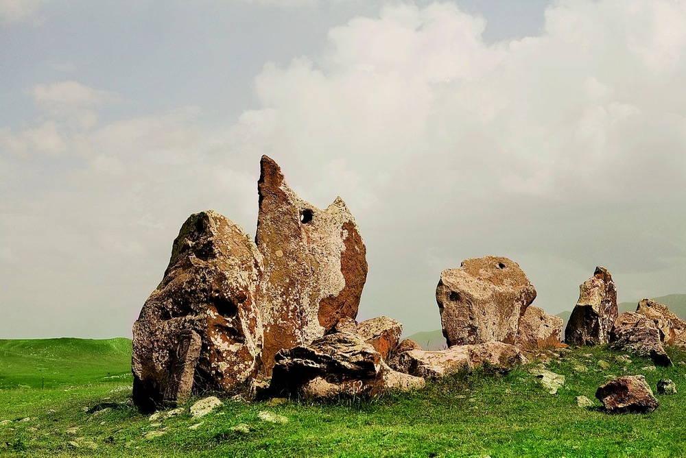 "Zorats Karer, the archelogical site near Sisian, Armenia where Fullilove sets her prologue. Image courtesy of <a href=""for-wikimedia.wowarmenia.ru"" target=""_blank"">Wikimedia Commons </a>."