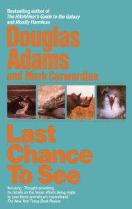 Faculty favorites: book cover for Last Chance to See