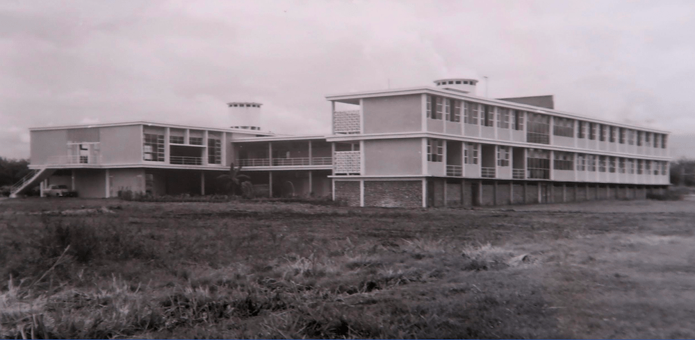 Student Dormitory at the National University at Palmira, Colombia.